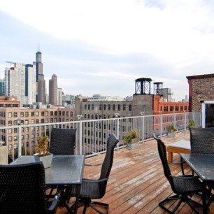 west loop penthouse loft chicago