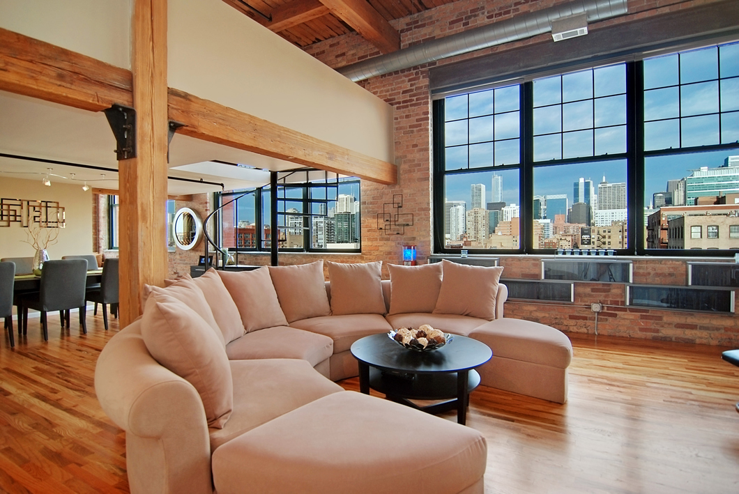 West loop penthouse loft chicago for W loft