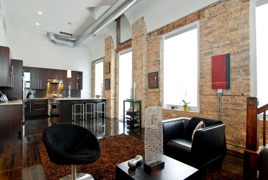 Dramatic Loft in the Ukrainian Village