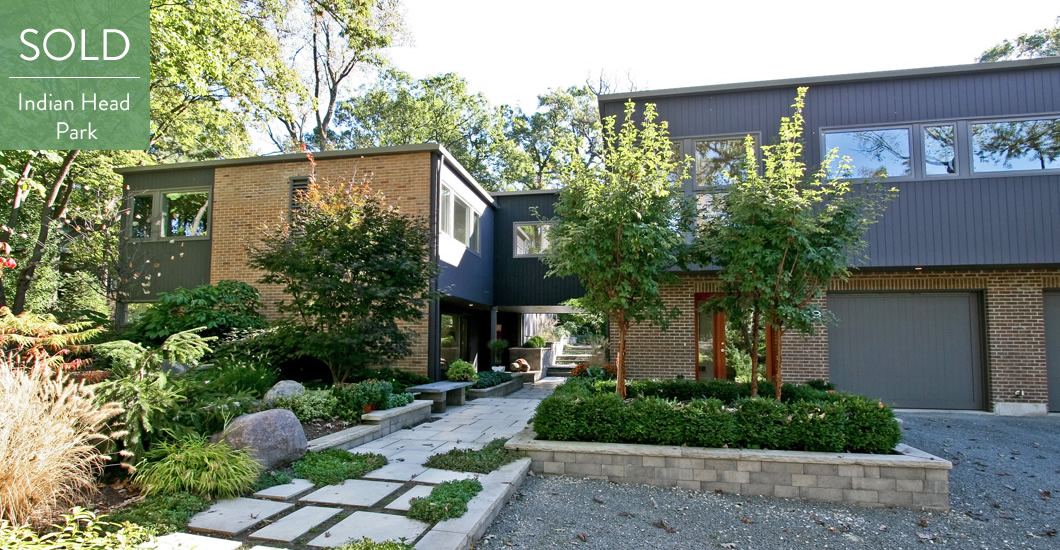 midcentury modern homes chicago