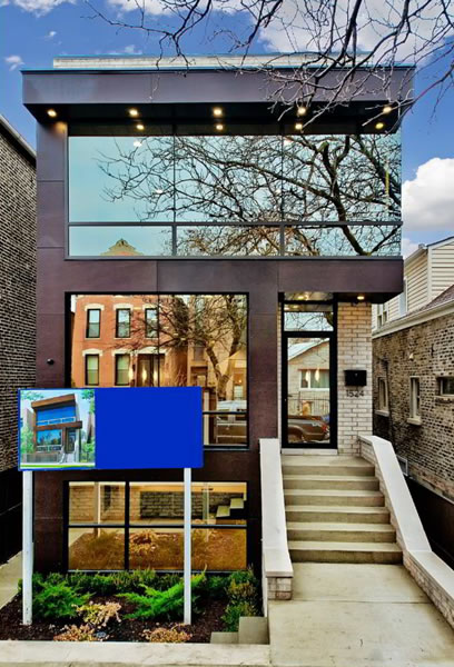 Modern Home in Wicker Park